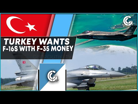 Turkey wants to buy F-16s from the US with F-35 program's money