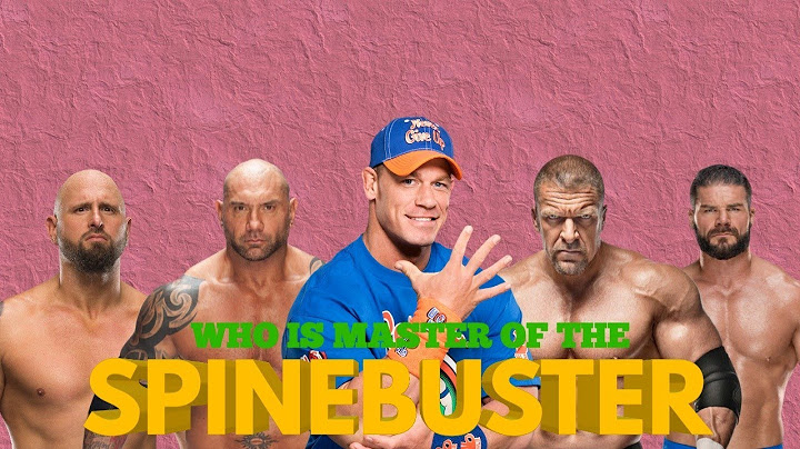 who is master of the spinebuster