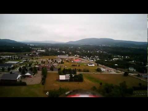 Radian 2 Meter Sailplane Over Bombardier Park Milton, Vermont