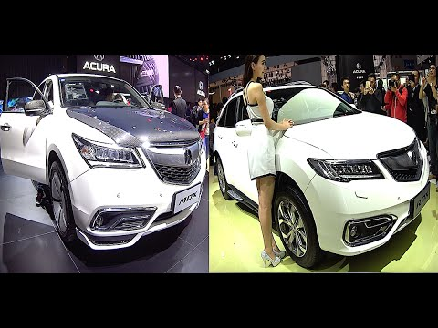 Acura Rdx Vs Mdx >> Luxury 2016 2017 Acura Suvs Rdx Vx Mdx Compare Models Youtube