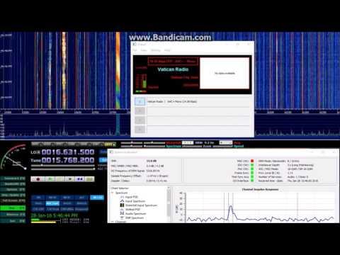 DRM 15775 kHz Vatican Radio
