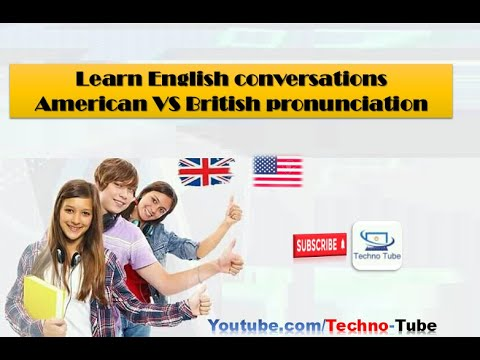Download Learn english conversations: American VS Britsh pronunciation