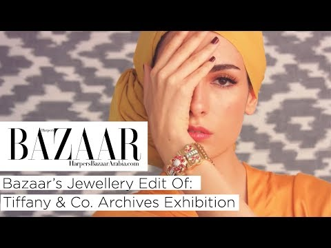 Bazaar's Jewellery Edit Of Tiffany & Co. Archives Exhibition