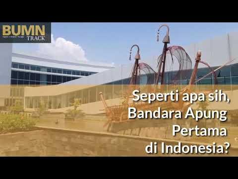 BUMN Track - Seperti Apa Sih Bandara Apung Pertama di Indonesia?