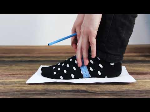 Как рассчитать полноту обуви