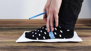 видео Как измерить размер ноги?