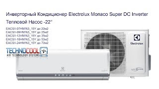 Инверторный Кондиционер Electrolux Monaco Super DC Inverter