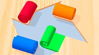 Color Roll 3D - All Levels Gameplay Android, iOS screenshot 3