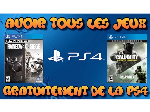 avoir tous les jeux de ps4 gratuitement youtube. Black Bedroom Furniture Sets. Home Design Ideas