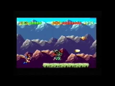 Skyblazer on the Super Nintendo Entertainment System