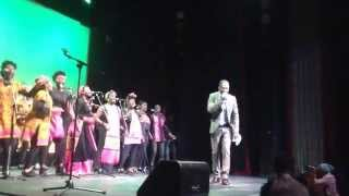 Pastor Abbeam Danso and the London African Gospel Choir live