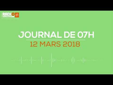 Le journal de12h00 du 12 mars 2018 - Radio Côte d'Ivoire