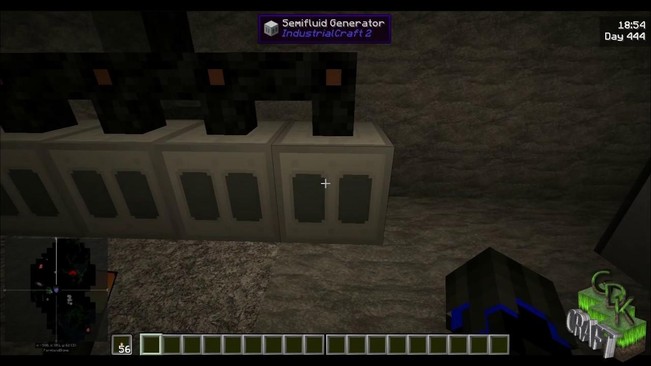Minecraft (1 10 2) BioGas Generator Concept Tutorial by GDKCraft's  SystemXray