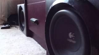 Logitech Z906 + Z-2300 Bass test grill off HD Resimi