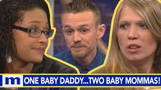 One baby daddy...Two baby mommas! | The Maury Show