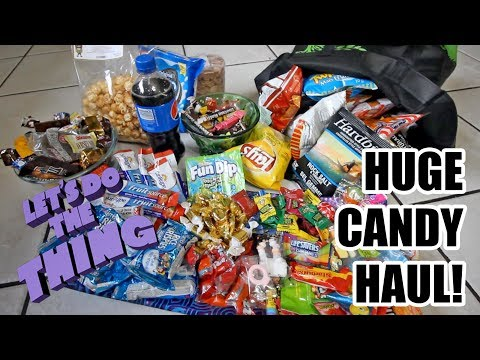 Trash Picking: Huge Candy Haul! - Someone Already Picked All The Bottles?!?!