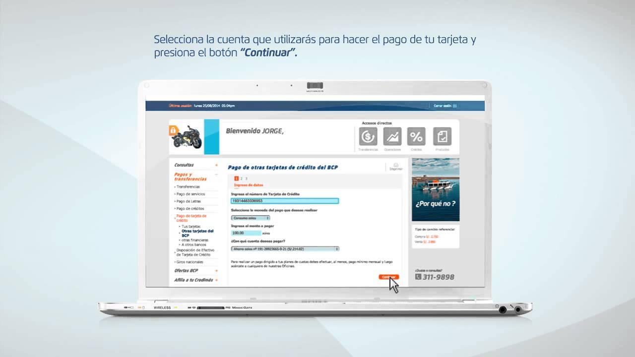 Download Banca por Internet   Tutorial Pago de Tarjetas de Crdito del BCPbajaryoutube com