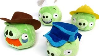 Let's Talk THE Accessorized Pigs Set! - Angry Birds Plush Videos