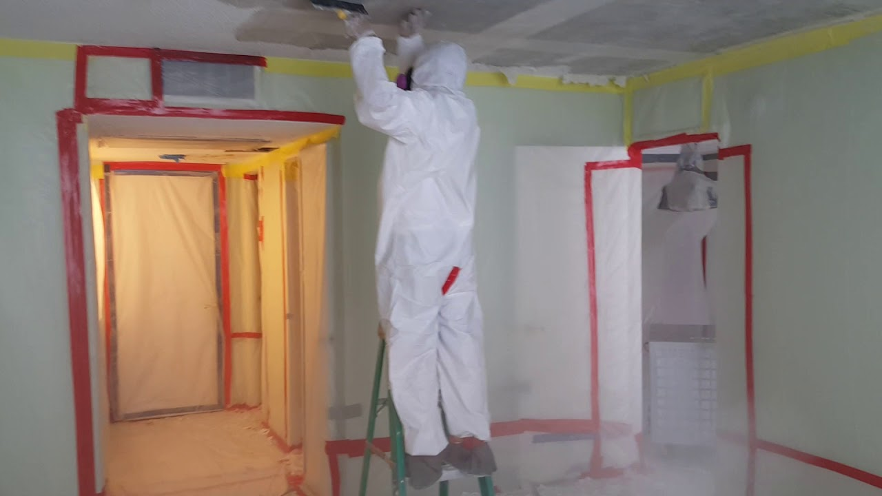 Asbestos Popcorn Ceiling Removal