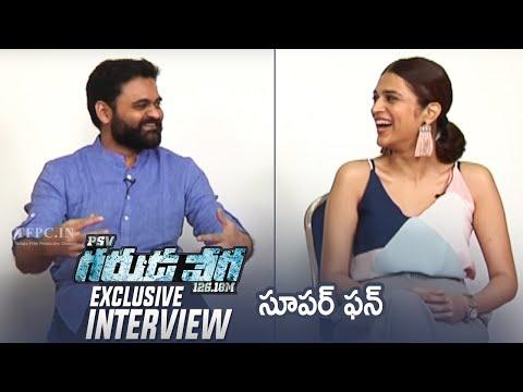 Director Praveen Sattaru and Shraddha Das Exclusive Interview About Garuda Vega Movie   TFPC