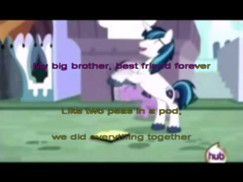 My Big Brother Best Friend Forever Karaoke by Rainbow Dash PL