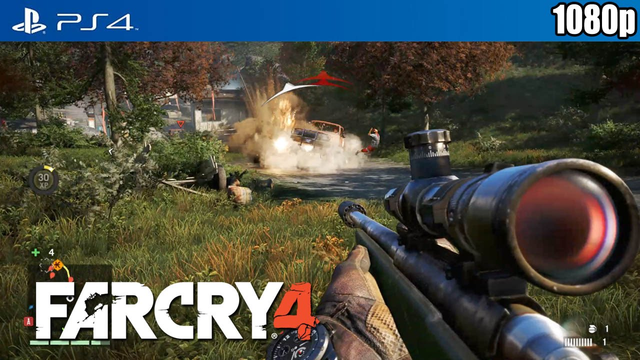 far cry 4 ps4 open world gameplay 1080p true hd. Black Bedroom Furniture Sets. Home Design Ideas