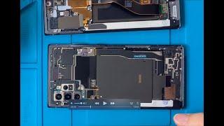 갤럭시 노트 10 플러스 액정 교체 방법.