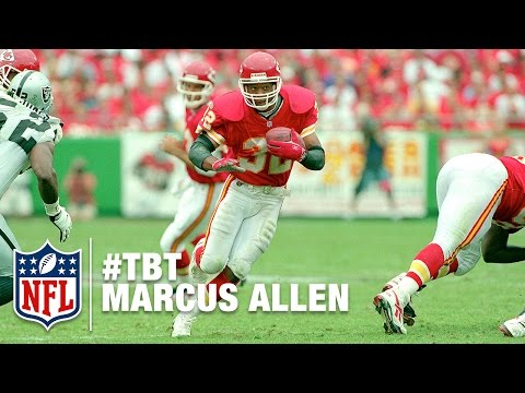 Marcus Allen - A Career Unlike Any Other | NFL History