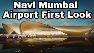 Exclusive - Navi Mumbai Airport First Look   Digital Blueprint   Design of New Mumbai Airport
