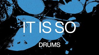 It Is So   Official Drums Tutorial   At Midnight   Elevation Worship