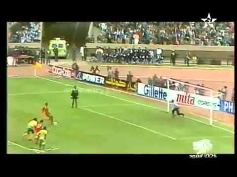 Maroc contre  Zaire  CAN  1988