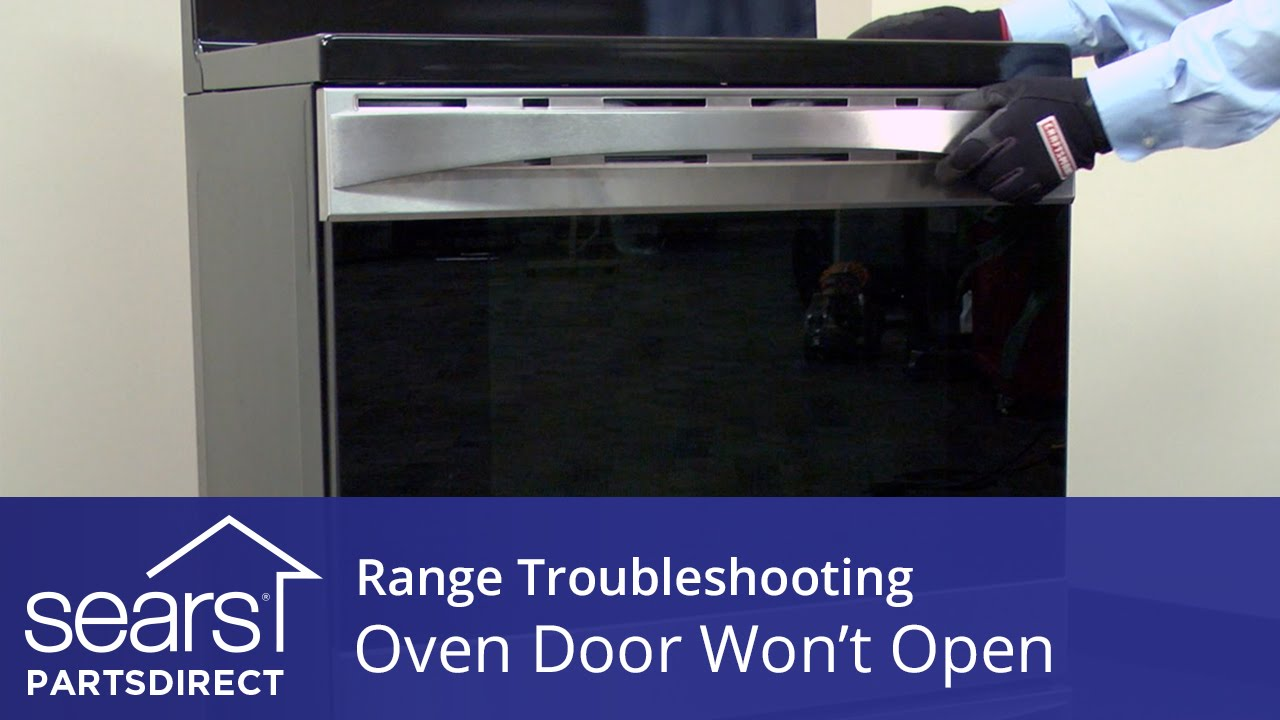 Oven Door Wonu0027t Open: Troubleshooting Door Lock Problems   YouTube