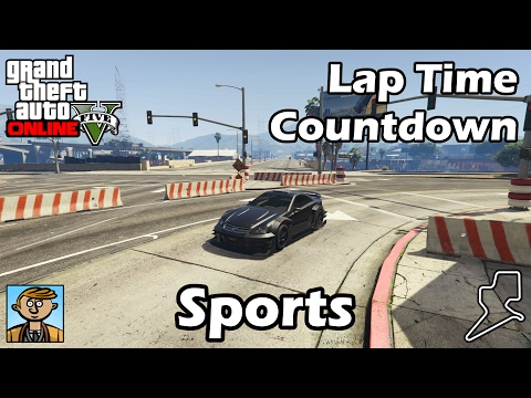Fastest Sports Cars (2017) - GTA 5 Best Fully Upgraded Cars Lap Time Countdown
