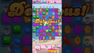 Candy Crush Saga Level 521 - NO BOOSTERS