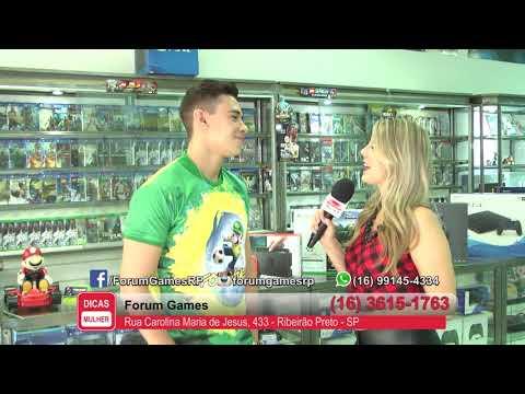 Forum Games - Programa Dicas Mulher - 02/07/2018