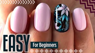 Easy nail art for short nails #7 💖 Manicure for beginners