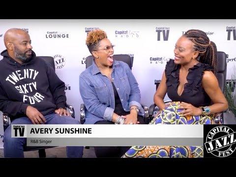 Avery*Sunshine Interview - 2017 Capital Jazz Fest