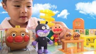 アンパンマン ぱっとひろがるパン工場 おもちゃ Anpanman Bread factory Toy