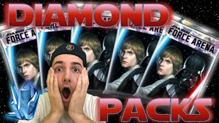 star wars force arena huge diamond pack opening how to best spend crystal