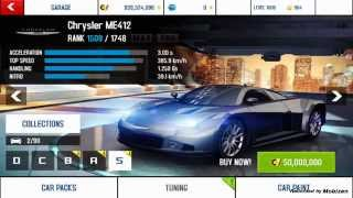 Asphalt 8 1.7.0k Mod Unlock All Cars Unlimtid Stars