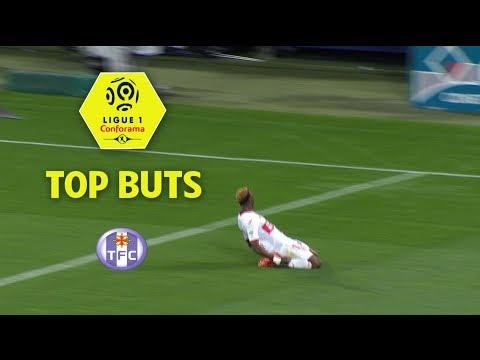 Top 3 buts Toulouse FC | saison 2017-18 | Ligue 1 Conforama