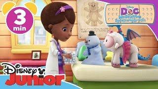 Chilly verliert Füllung - Doc McStuffins | Disney Junior Kurzgeschichten