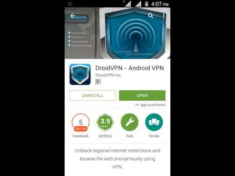 How To Use Droid Vpn On  Airtel 4G Speed For Free