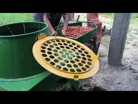 Yeni Sehpalı Ceviz Soyma Makinesi - Kadıoğlu Nutmec - 2016