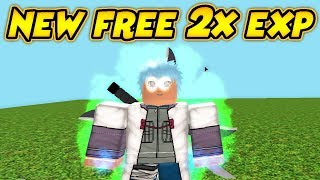 NEW FREE DOUBLE EXP IN NARUTO RPG: BEYOND! | Roblox