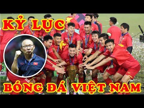 7 Kỷ Lục Của Bóng Đá Việt Nam Dưới Thời Park Hang Seo Khiến Thế Giới Ngã Mũ Khâm Phục