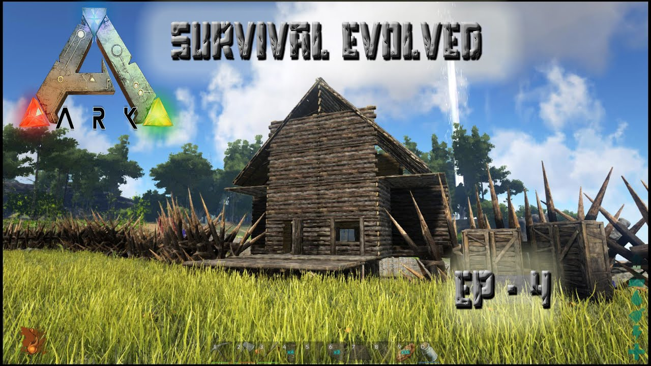 House Building Tips ark: survival evolved - house building ep-4 - youtube
