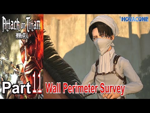 Wall Perimeter Survey | Attack on Titan | Part 11 | Live Action Commentary