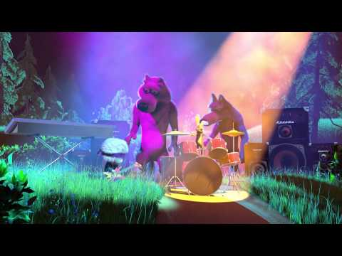 Маша и Медведь - Рок-клип (Хит сезона)из YouTube · С высокой четкостью · Длительность: 1 мин47 с  · Просмотры: более 8.438.000 · отправлено: 18-4-2013 · кем отправлено: Маша и Медведь