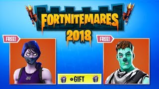 *NEW* HOW TO GET FREE FORTNITEMARES SKINS! NEW 2018 FORTNITEMARES CHALLENGES! FORTNITEMARES UNLOCKS!